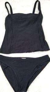 Calvin Klein black two pieces bathing suit.  10